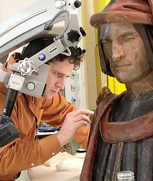 Fine Art Conservation Services - Restoration - Pittsburgh