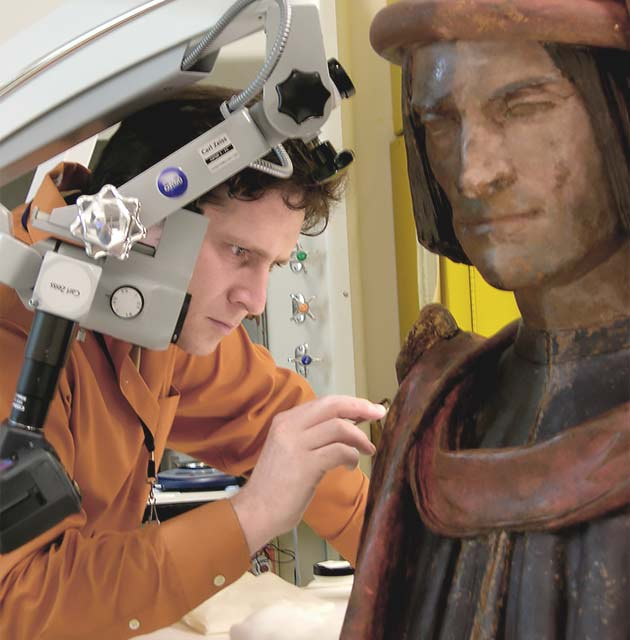 Fine Art Conservation Services - Michael Belman Objects Conservator