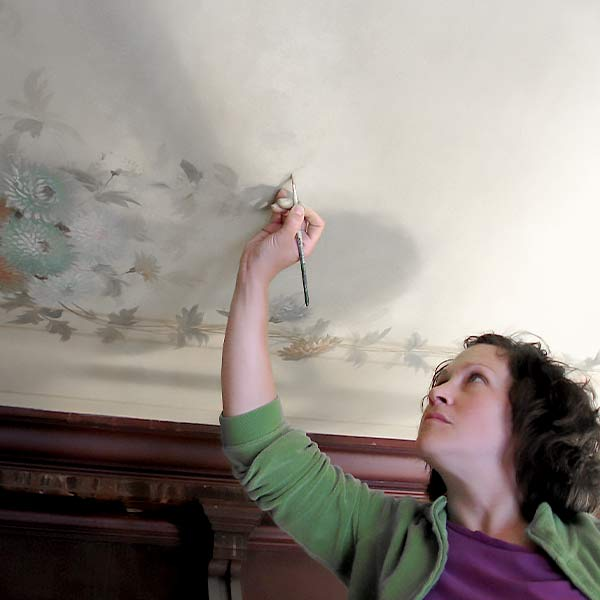Fine Art Conservation Services - Mural and Painted Interior Restoration Services - Pittsburgh