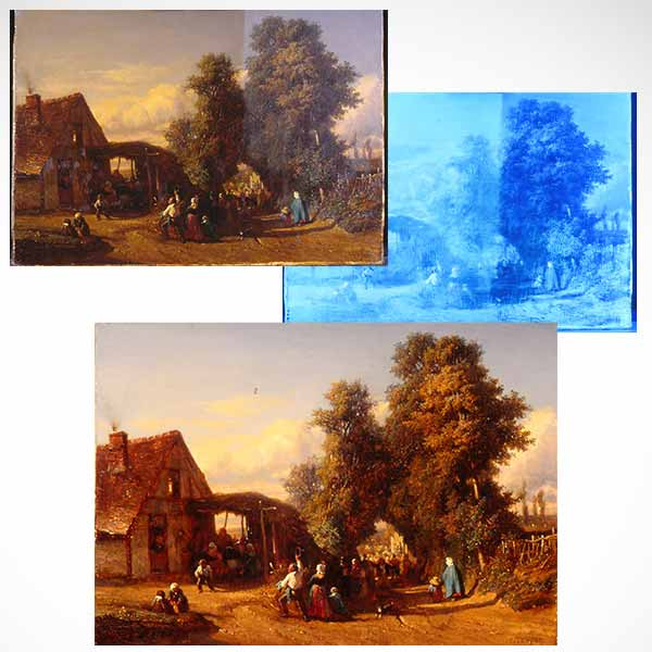 Fine Art Conservation Services - Painting Cleaning and Restoration Services - Pittsburgh
