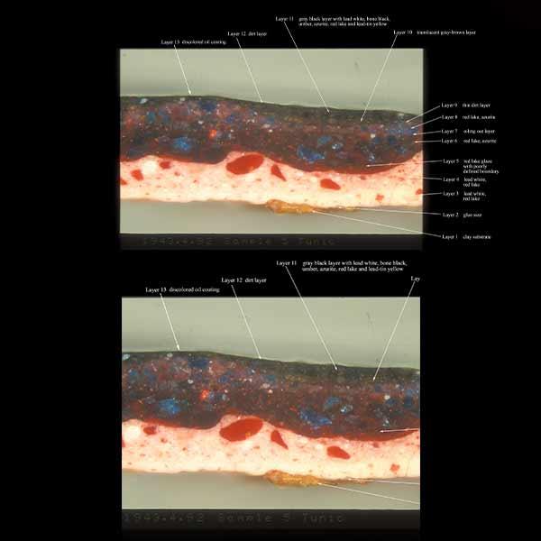 Fine Art Conservation Services - Microscope Ultraviolet Illumination Painting Examination - Pittsburgh